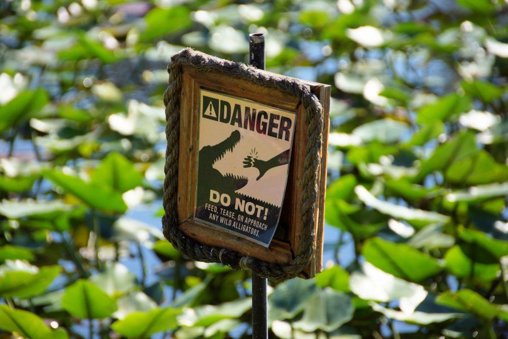 everglades warning
